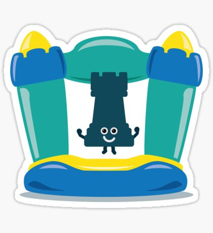 Character Building - Bouncy Castle Sticker