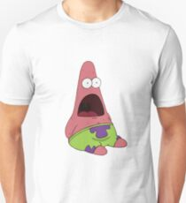 Suprised Patrick Spongebob Unisex T-Shirt