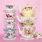 Tea time pastel prettiness by Zoe Power