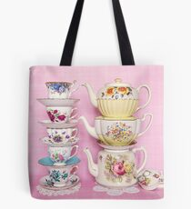 Tea time pastel prettiness Tote Bag