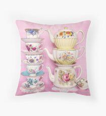 Teezeit Pastell Hübschheit Kissen