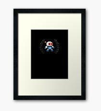 Bomberman - Sprite Badge 2 Framed Print