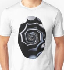 TGS Fractal Abstract in Winter Unisex T-Shirt