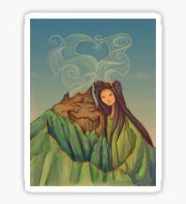 Lava Love Sticker