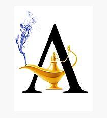 A For Aladdin! Photographic Print