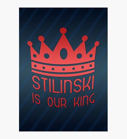 Stilinski Is Our King Photographic Print