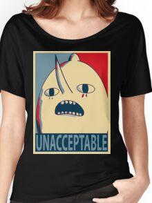 Unacceptable Lemongrab Women's Relaxed Fit T-Shirt