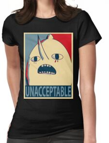 Unacceptable Lemongrab Womens Fitted T-Shirt