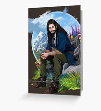 Thorin Oakenshield Greeting Card
