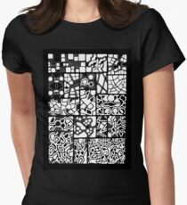 Abstracting the City Women's Fitted T-Shirt