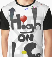 HIGH ON LIFE (Straight Edge Version) Graphic T-Shirt