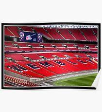 Wembley stadium HDR Poster
