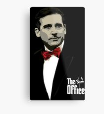 The Office: Godfather Michael Scott Metal Print