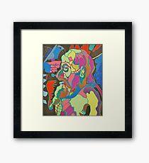 Love Color Framed Print