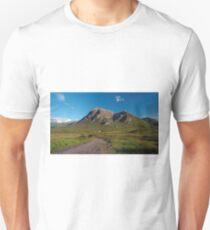 Lagangarbh Hut and Buachaille Etive Mor T-Shirt