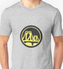 Pittsburgh Roberto Clemente Bridge Yellow Unisex T-Shirt