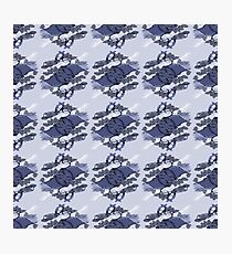 Oriental Fir Surface Pattern Design by Jenny Meehan  Photographic Print