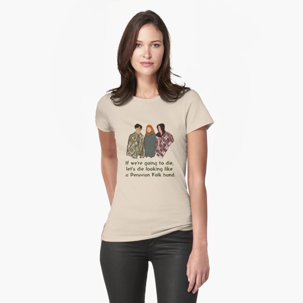 Peruvian Folk Band Womens T-Shirt Front