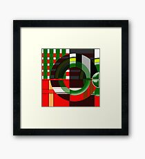 Mathematical Equation Framed Print