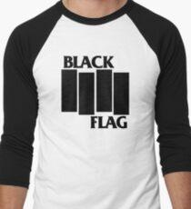 Black Flag Men's Baseball ¾ T-Shirt