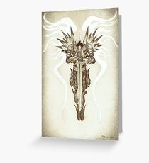 Tyrael Greeting Card
