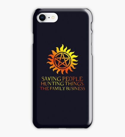 The Family Business III iPhone Case/Skin