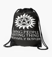 The Family Business II Drawstring Bag