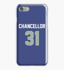 Kam Chancellor Jersey iPhone Case/Skin