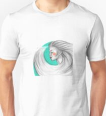 Train of waves. Unisex T-Shirt