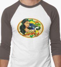 Laura's Fresh Fruit Store ( Laura Street Fighter V ) Men's Baseball ¾ T-Shirt