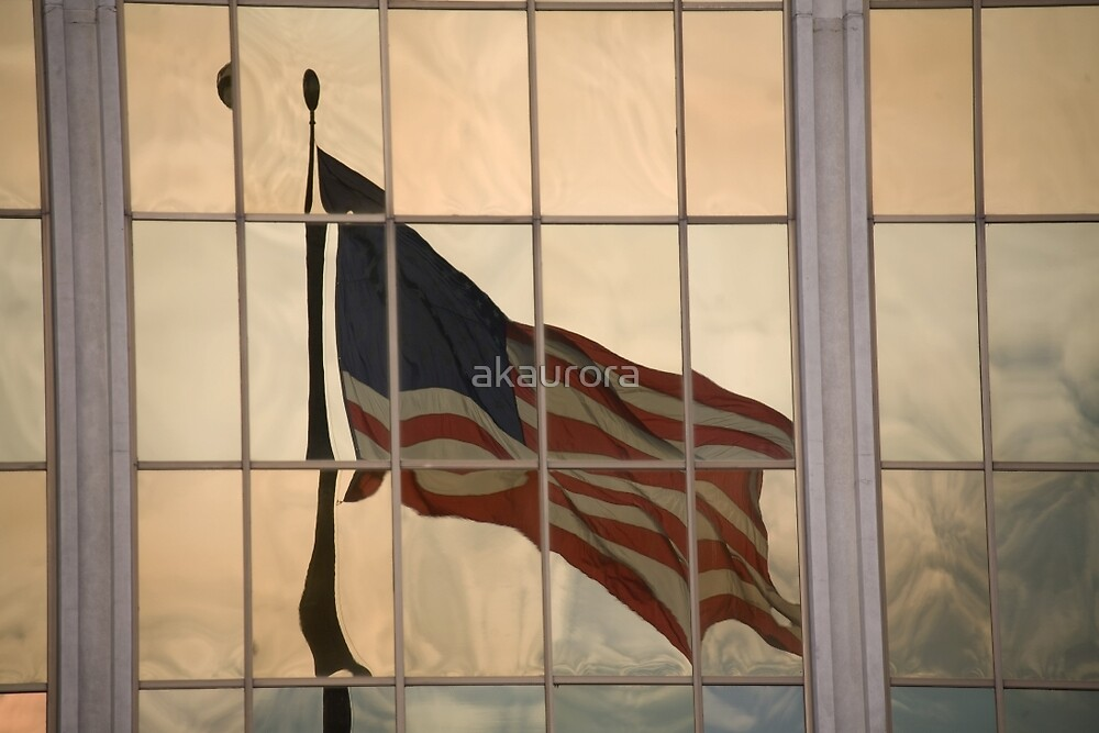 Reflections Of Old Glory by akaurora