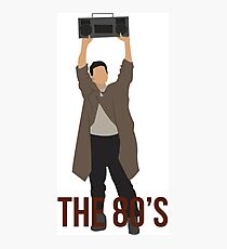 Say Anything - Famous Boombox Scene Photographic Print