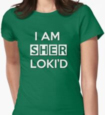 Sher Loki'd Women's Fitted T-Shirt