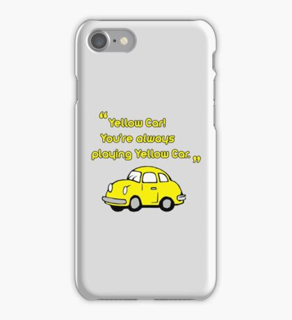 Yellow Car iPhone Case/Skin