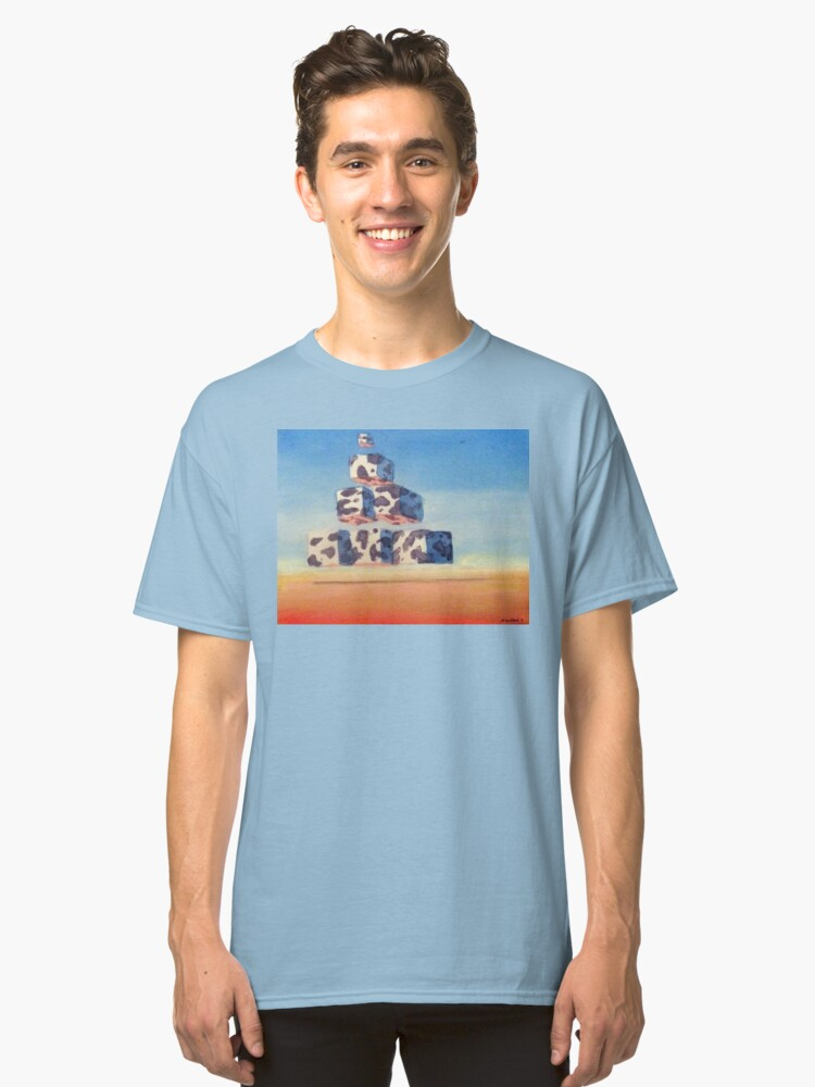 The Pyramoo Classic T-Shirt Front