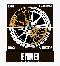 Enkei Wheels Photographic Print