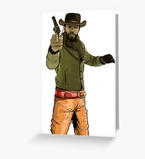 Django Midwest Greeting Card
