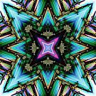 Fractal Star by CharmaineZoe