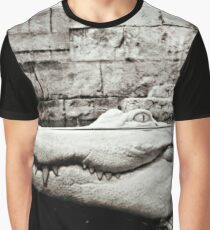 Albino Alligator Photography  Graphic T-Shirt