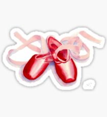 Red Toeshoes Sticker