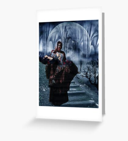 TO HAVE HER BACK AGAIN Greeting Card