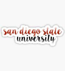 San Diego State - SDSU Sticker