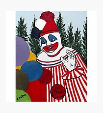 Pogo The Clown Photographic Print