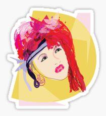 Cyndi's So Unusual Sticker