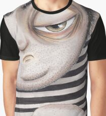 Allen Kazam  - Close-up Graphic T-Shirt