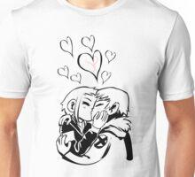 Scott Pilgrim and Ramona Flowers Unisex T-Shirt