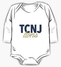 Body de manga larga para bebé The College of New Jersey