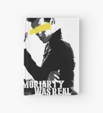 Moriarty was real Hardcover Journal