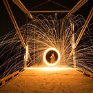 Spinning Steel Wool #2 by akaurora