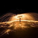 Spinning Steel Wool #1 by akaurora